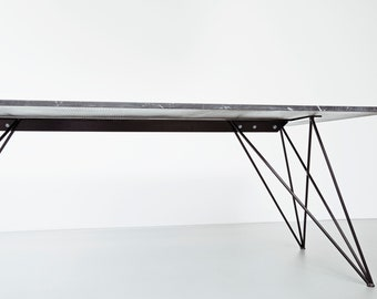 More Colors. Unique Metal Table Legs For Marble And Glass ...