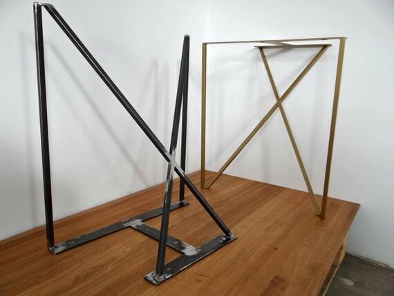 Gambe di tavolo da pranzo in acciaio. Gambe tavolo in metallo | Etsy