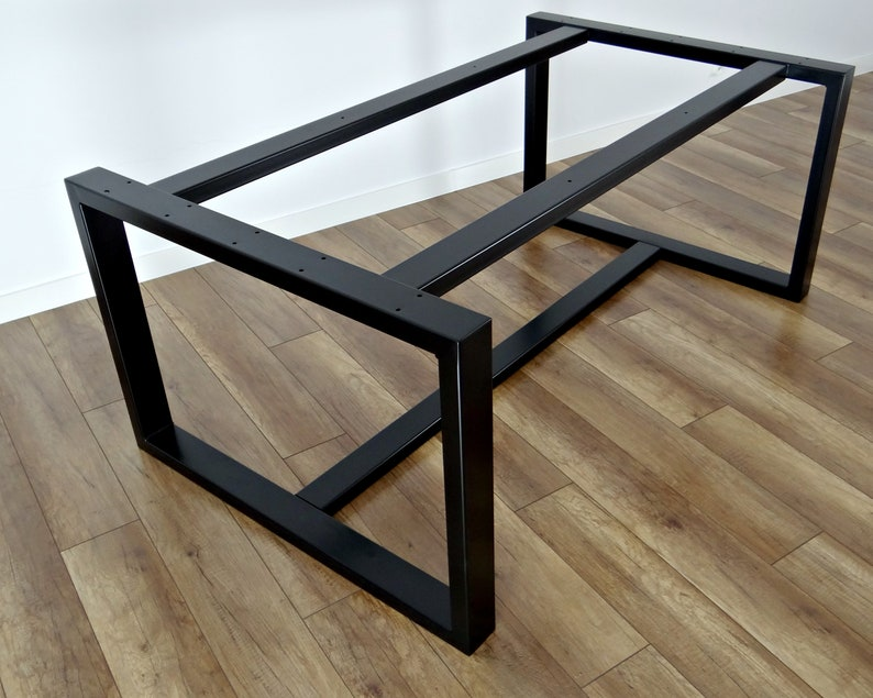 Metal Dining Table Legs For Heavy Marble And Glass Top 71x71cm Steel Table Legs Table Frame Iron Table Legs For Reclaimed Wood