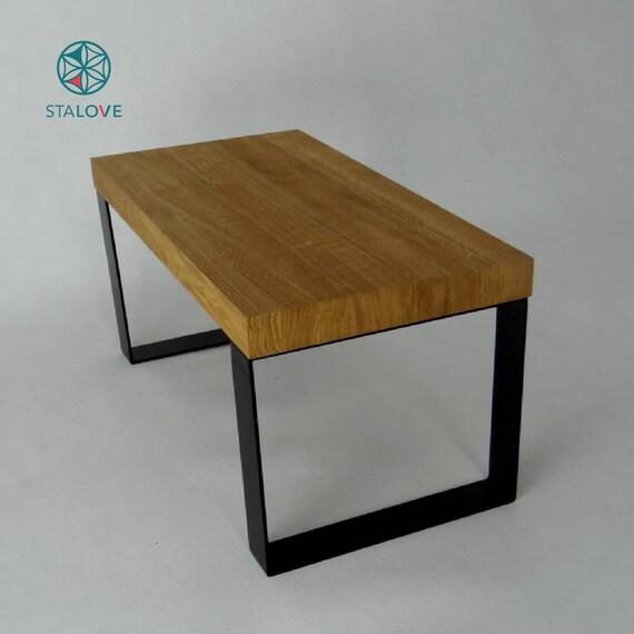 Gambe in metallo tavolino set di 2. Base in acciaio | Etsy