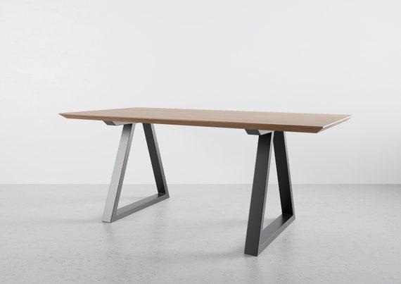 Metal Dining Table Legs Set Of 2, Dining Room Table Legs