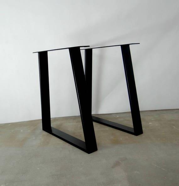 Esstisch Stahlbeinen 2er Set. Moderne Metall Küche
