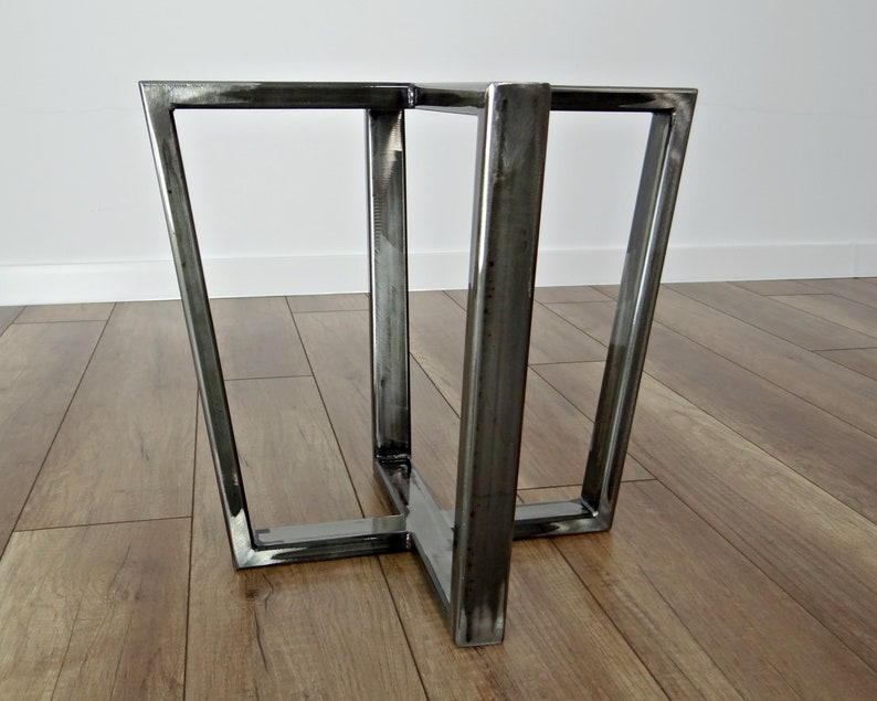 Metal Coffee Table Base Modern Coffee Table Legs End Table Etsy