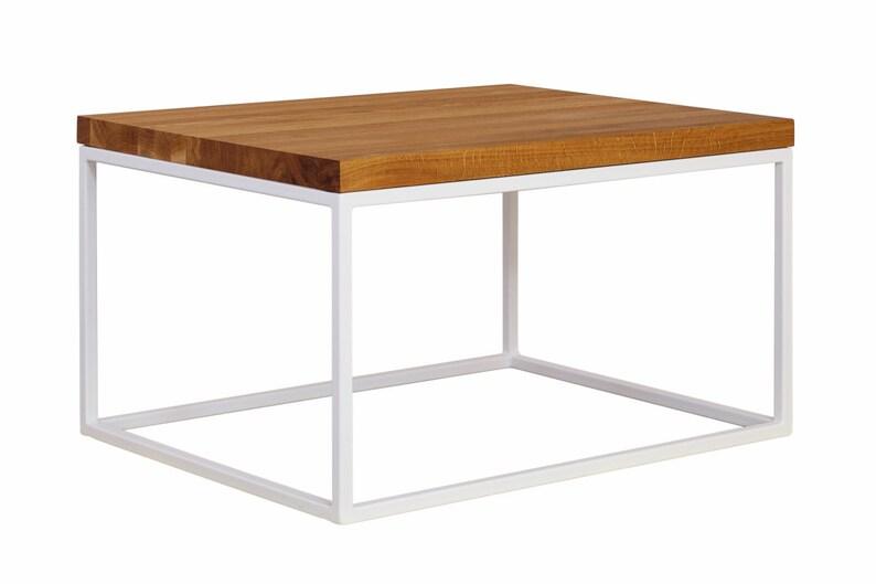 Moderner Couchtisch Eiche Holz Tischplatte Couchtisch Etsy