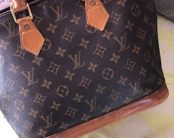 94ca757de4 Louis Vuitton 100% Authentic Alma Bag. Classic Monogram LV Print Ladies  HandBag. Made in France. Guaranteed Genuine Purse