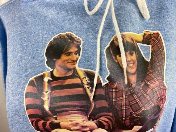 Vintage Hoodie Mork & Mindy Adult Medium Heat Tra… - image 5