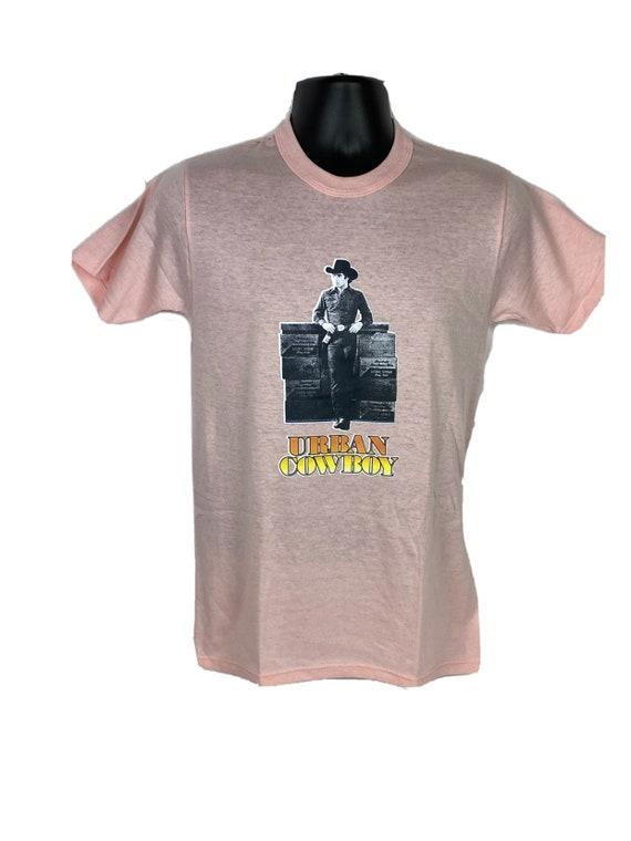 Vintage T-shirt Urban Cowboy John Travolta Adult S