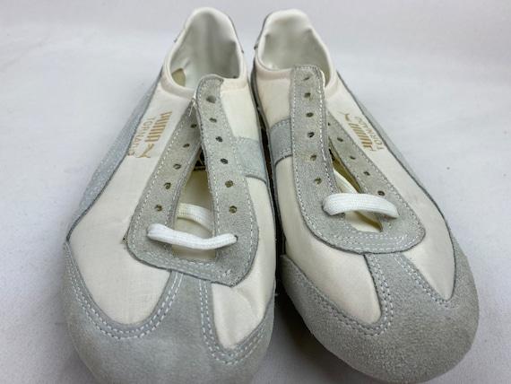 Vintage 70s Puma Tornado Track Shoes White Spikes… - image 6