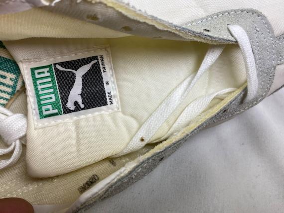 Vintage 70s Puma Tornado Track Shoes White Spikes… - image 9