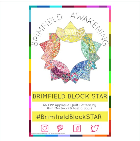 Das Brimfield Block-Stern-Muster