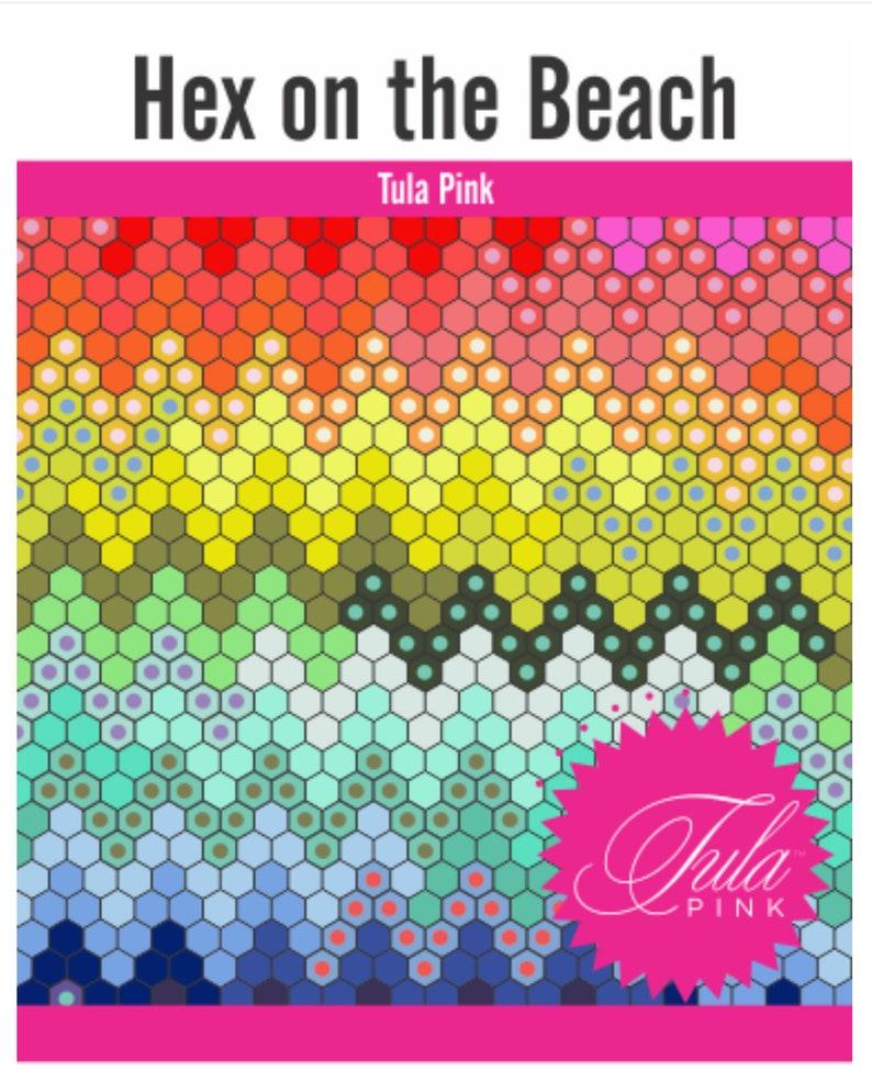 SALE Zuma Hex On the Beach Quilt Kit