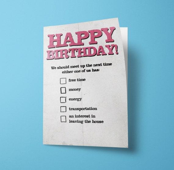 Alles Gute Zum Geburtstag Checkliste Lassen Sie Uns Etsy