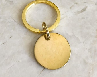 Gold Dog Tag - Golden ID Tag