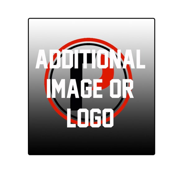 Add additional image or logo to your PinFolio