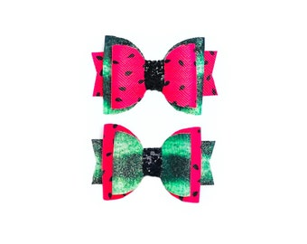 Dog  Dog Bow  Dog Bow Tie  Summer Fruit  Fruit Salad  Summer Fruit Bow  Summer Fruit Bow Tie  Aqua  Strawberry  Watermelon  Pear