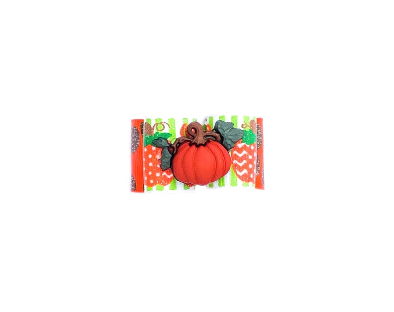 Dog Hair Bows Thanksgiving Pumpkins Pet Bow Fall Autumn Glitter Dog Bow Pumpkin Dog Bow Elastics Barrette
