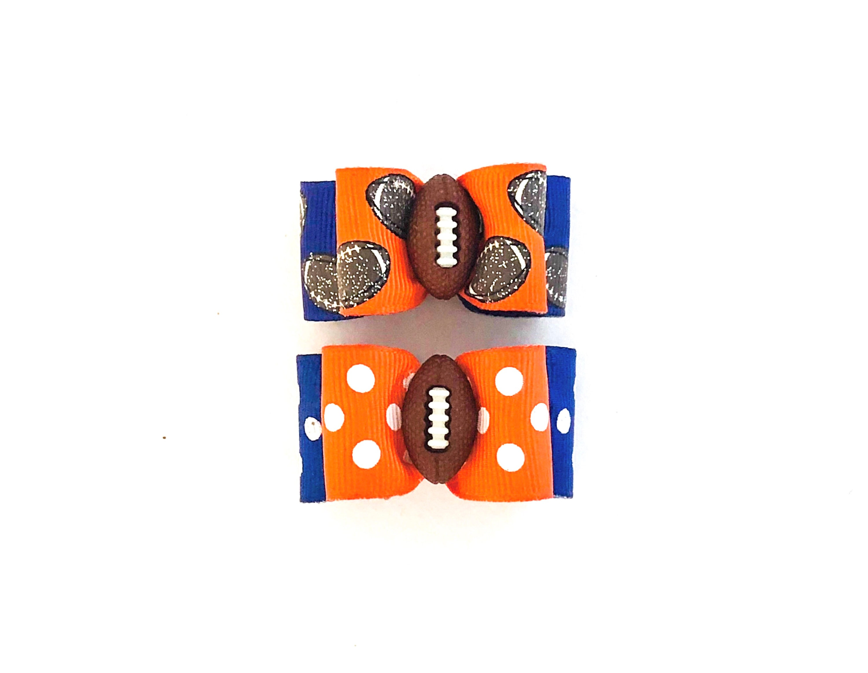 huge selection of 30650 1669b Dog Hair Bows- Auburn Tigers Pet Bow Denver Broncos Dog Bow ...