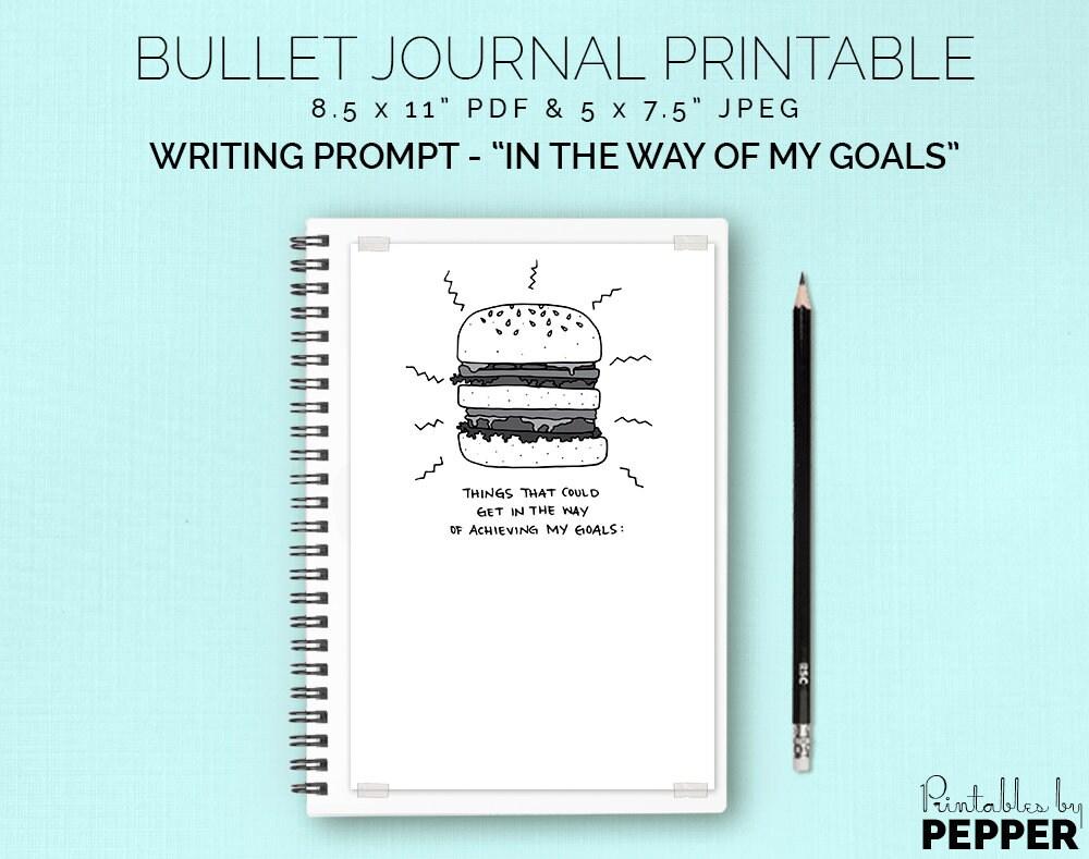 In the Way Bullet Journal Planner Printable Bujo Art Diary | Etsy