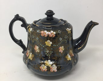 Hand Painted Teapots Etsy