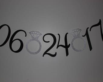 Save the Date Banner, Wedding Photoshoot, Wedding Banner, Engagement Banner