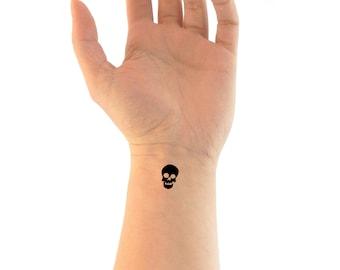 3a75716d6 temporary tattoo,skull tattoo,skeleton tattoo,scary tattoo,halloween tattoo, skull gift,skeleton gift,scary gift,halloween gift,small skull