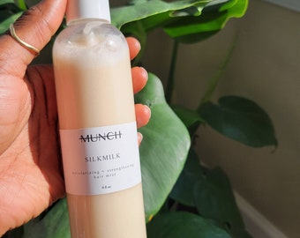 SILKMILK | Hair Strengthening Milk | Daily Curl Refresher Spray | 8oz