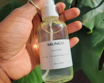 SOOTHE | Calming + Brightening Face Toner for Sensitive, Dry, Acne Prone, or Mature Skin | Alcohol and Fragrance Free