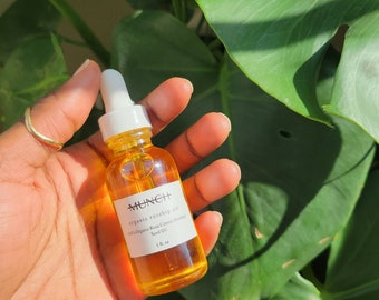 Organic Rosehip Oil | Facial Oil for Dry, Sensitive, or Mature Skin | Unscented | 1 oz