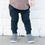Solid baby pants - charcoal leggings - solid leggings - solid harem pants - toddler leggings