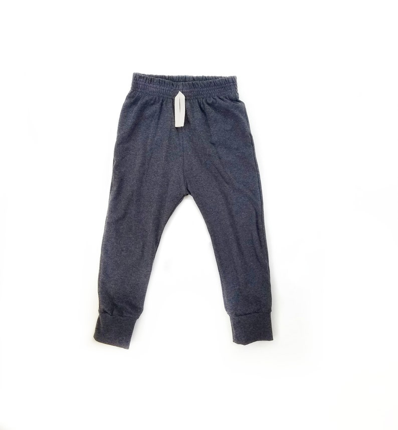 Charcoal  Baby Joggers  Baby pants  toddler joggers  lounge image 0