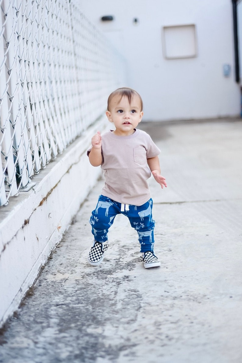 Baby joggers Organic baby clothes  Toddler boy girl image 0