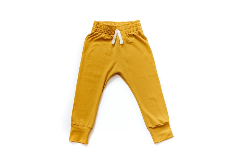 Marigold Baby Joggers  Baby pants  toddler joggers  lounge image 0