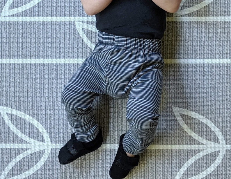 Charcoal Baby Leggings  SLIMS  Skinny pants for baby  image 0