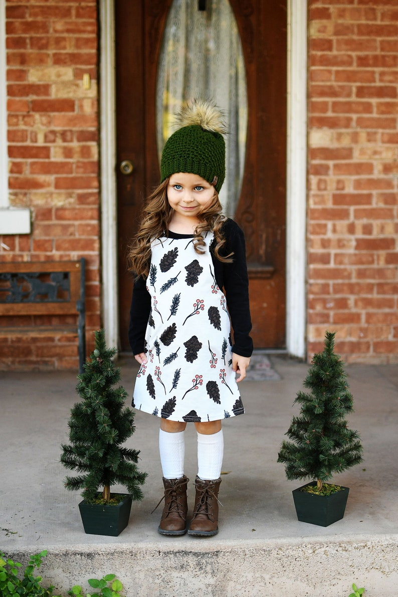 Toddler girl christmas outfit  Fall thanksgiving outfit  image 0