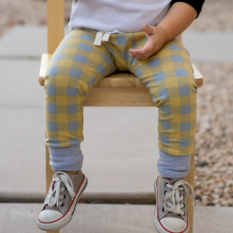 Slims  Plaid baby leggings  baby boy  gift   baby shower image 0