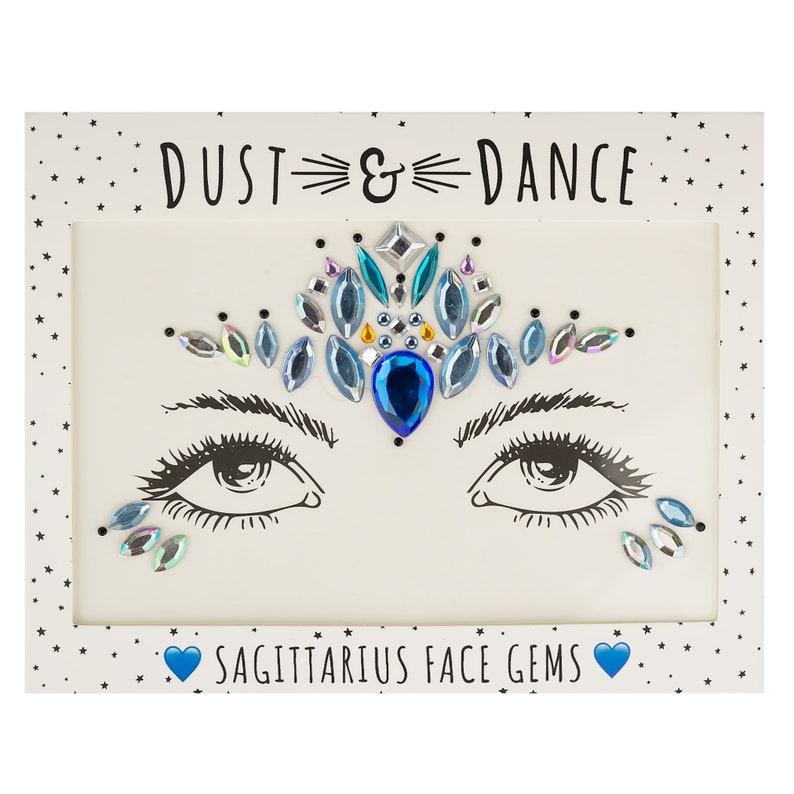 Sagittarius Face Jewels