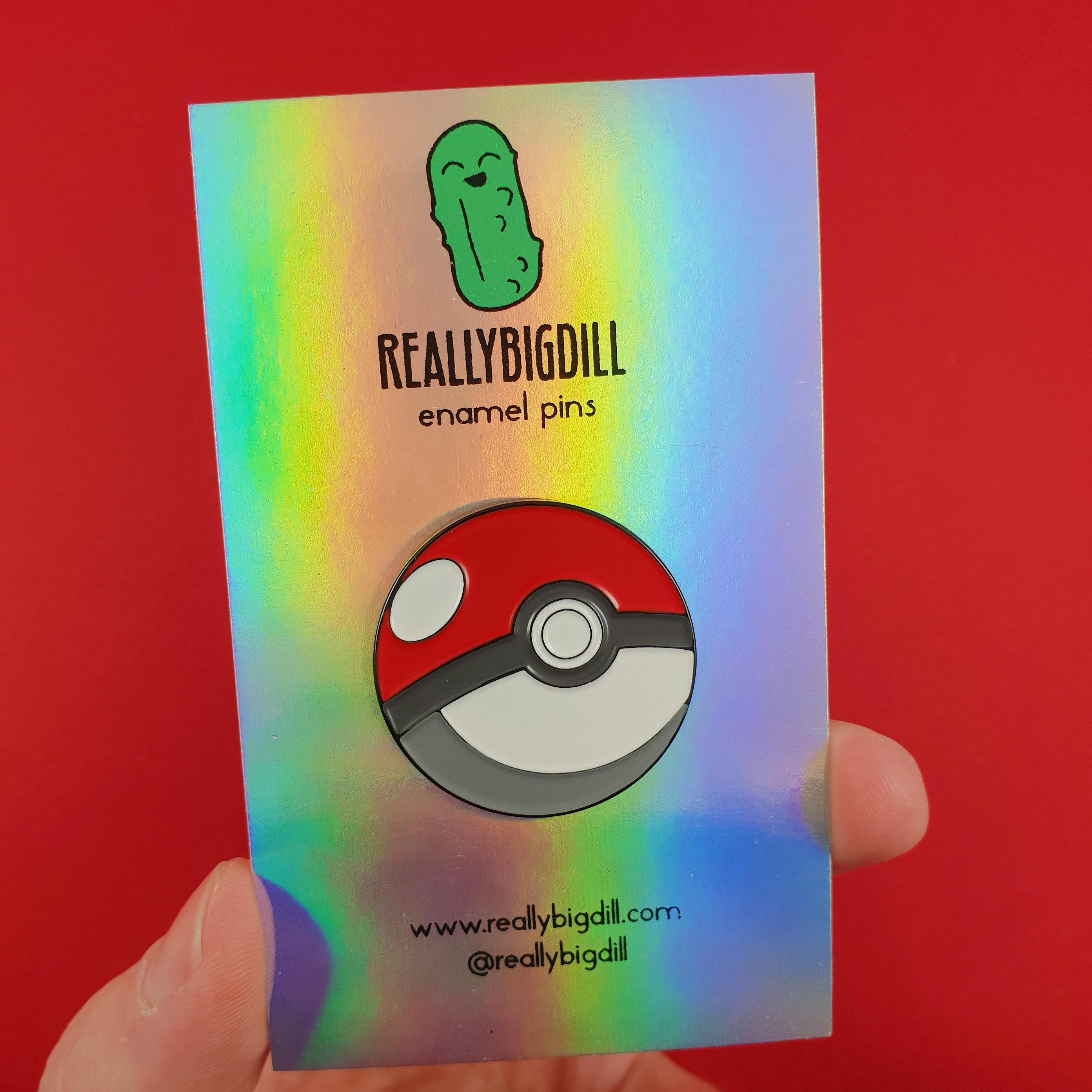 Pokemon Go Poke Ball Raised Graphics Metal//Enamel BELT BUCKLE great collectible