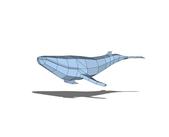 Origami Whales Project - Curtain of 38,000 Origami Whales | 464x570