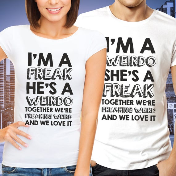 Weird Couple Shirts 1
