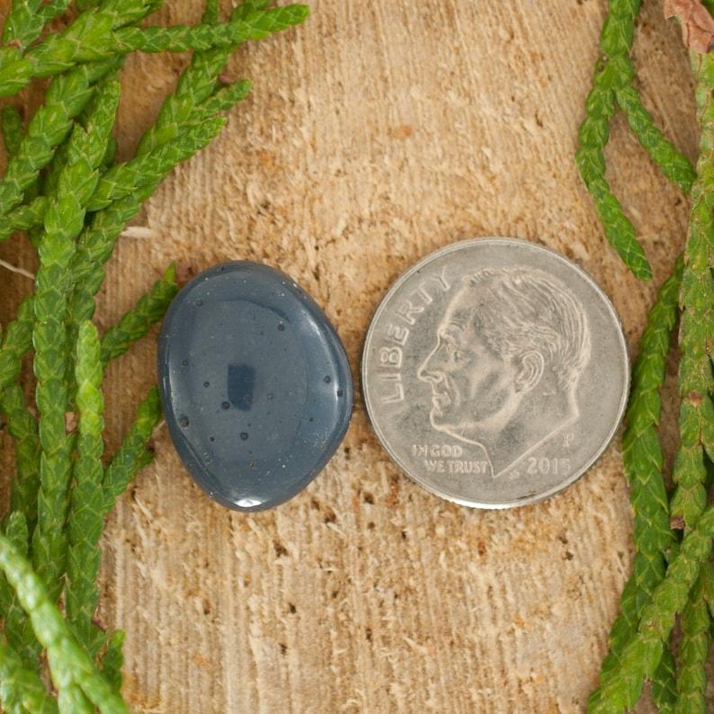 Dark Slate Blue Leland Blue Cabochon