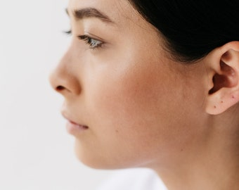 Eco sterling silver ear cuff | Fake earring | Handmade jewellery | No piercing earring | Sustainable gifts | Ethical jewellery