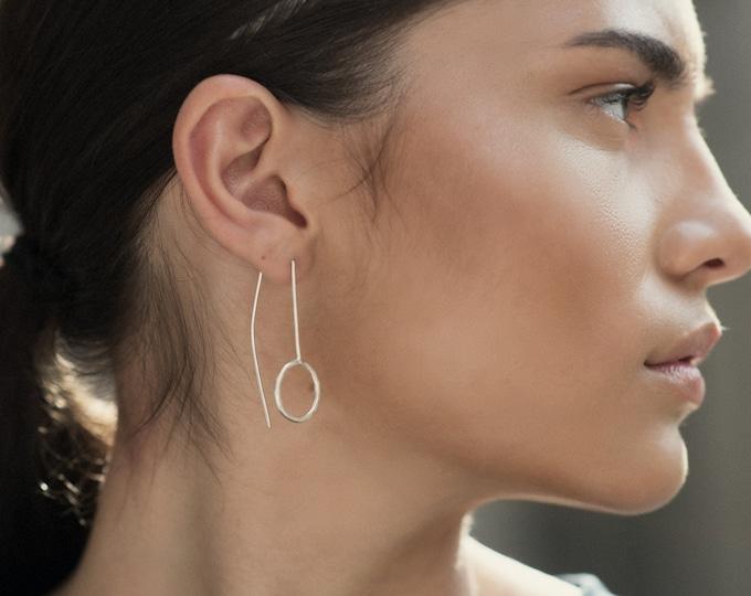 Open circle ear threads
