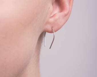 Curve ear threads