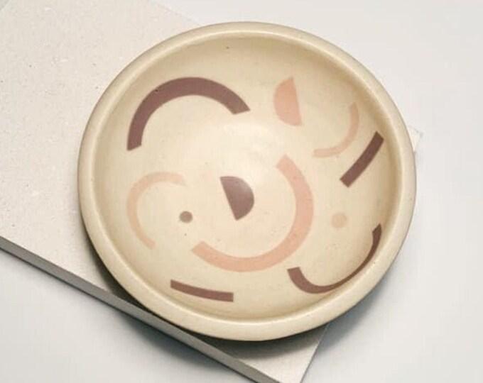 Shapes ceramic jewellery bowl