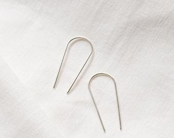 Long ear pins