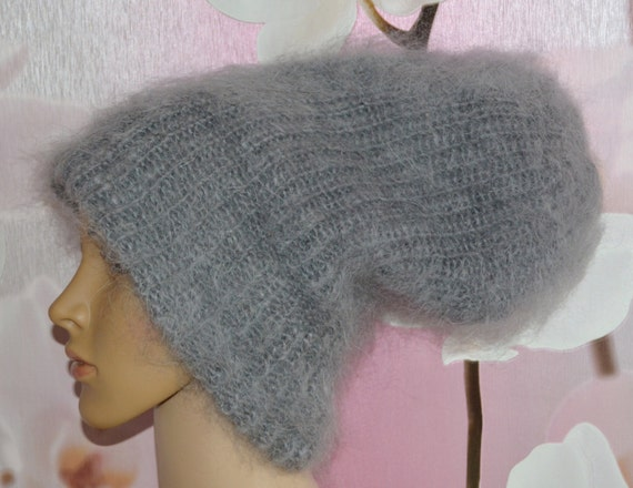 ac948d87bee Hat Knitted Hat bean Hat Cashmere Mohair Angora not alpaca