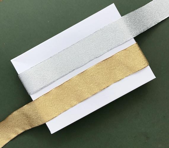 Berisfords Silver Grey 15mm Double Sided Satin Ribbon 1m//5m//10m//20m//100m