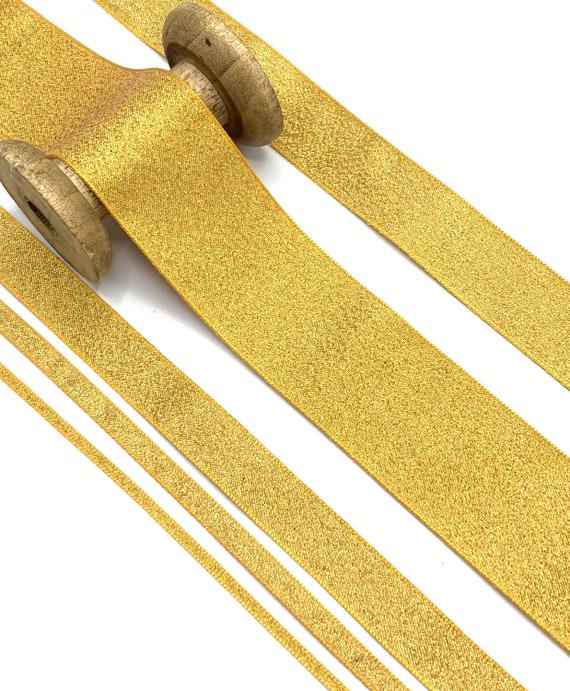 25 /& 40mm BERISFORDS® LAMÉ RIBBON Sparkly Lame Glitter Ribbon 3 7 15