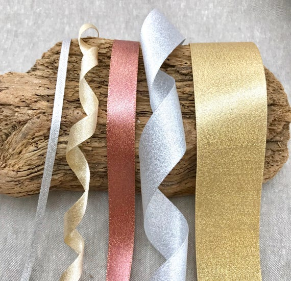 Berisfords Double Faced Satin Wedding Ribbon 10//25mm Widths 1//3//5//10m Lengths