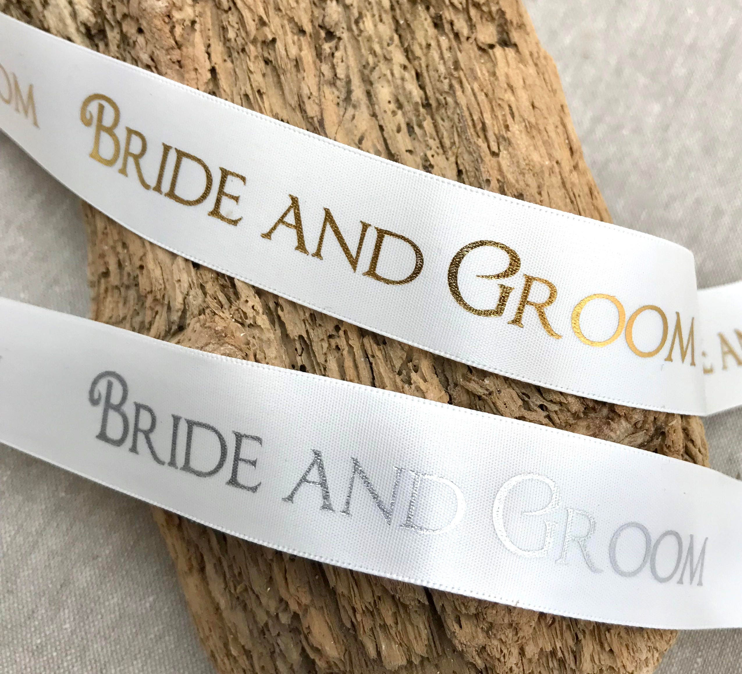 5m 10m and 25m Lengths Sewn with Love Ivory Ribbon Labels Available in 1m